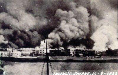 Καταστροφή της Σμύρνης 1922 Μικρασιατική Καταστροφή
