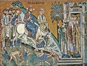 Κυριακή των Βαΐων - Βάγια - Είσοδος του Ιησού στην Ιερουσαλήμ